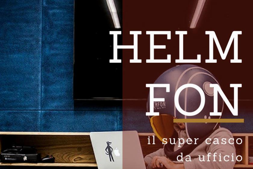 HELMFON:IL SUPERCASCO DA UFFICIO